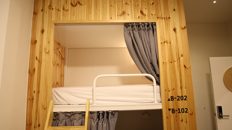 Dormitory for 4 people